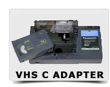 Transfer vhs c adapter