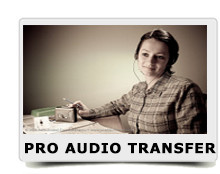 pro audio transfer home